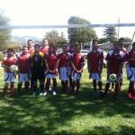 Soccer team from Seaside.