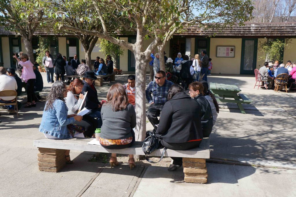 Small group discussions generated energy and new ideas.