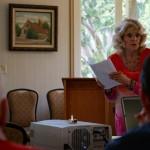 Joyce Nehlsen tells delegates about ECW.