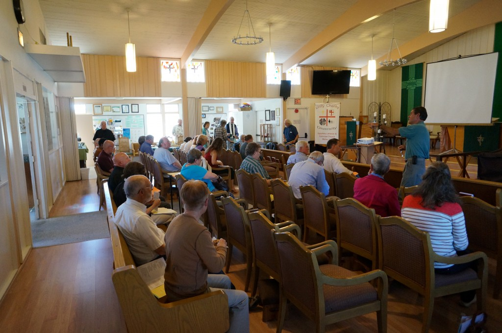 Monterey Deanery delegates gather at Epiphany, Marina, on September 7, 2013.