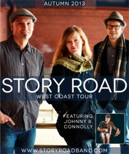 Story Road Concert on September 14 at St. Mary's, Pacific Grove